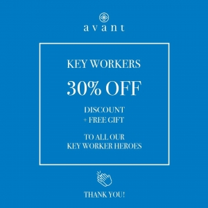 We want to say a big THANK YOU to all key workers who are working tirelessly through these unprecedented times, from NHS staff to teachers to carers and everyone else in between 👏  If you're a key worker of any kind, send us a DM with a photo of your ID card and we'll send you over a code for 30% off all Avant products plus a free gift, you deserve it ❤️  Tag any key workers you know so that we can thank as many people as possible with this discount!  From everyone here at Avant, thank you for everything you do, we will never be able to thank you enough 🌈 . . . #nhsdiscount #keyworkers #keyworkerdiscount #keyworkercode #lockdown #covid #thankyounhs #thankyoukeyworkers #protectournhs #savelives #coronavirus #nhsheroes #avantskincare #healthcareheroes #carers #teachers #covidkeyworkers