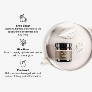 We value transparency and aim to educate our customers on the ingredients in their skincare ✏️  Here's a more in depth look at the ingredients in our 8 Hour Radiance Renewal Sleeping Mask 🌙 . . . #sleepingmask #facemask #overnightmask #sheabutter #ricebran #panthenol #antiageing #antiageingskincare #avantskincare #crueltyfreebeauty #influencer #influencerskincare #luxuryskincare #skincarereview #sustainableskincare #skincareroutine #tlc #athomespa